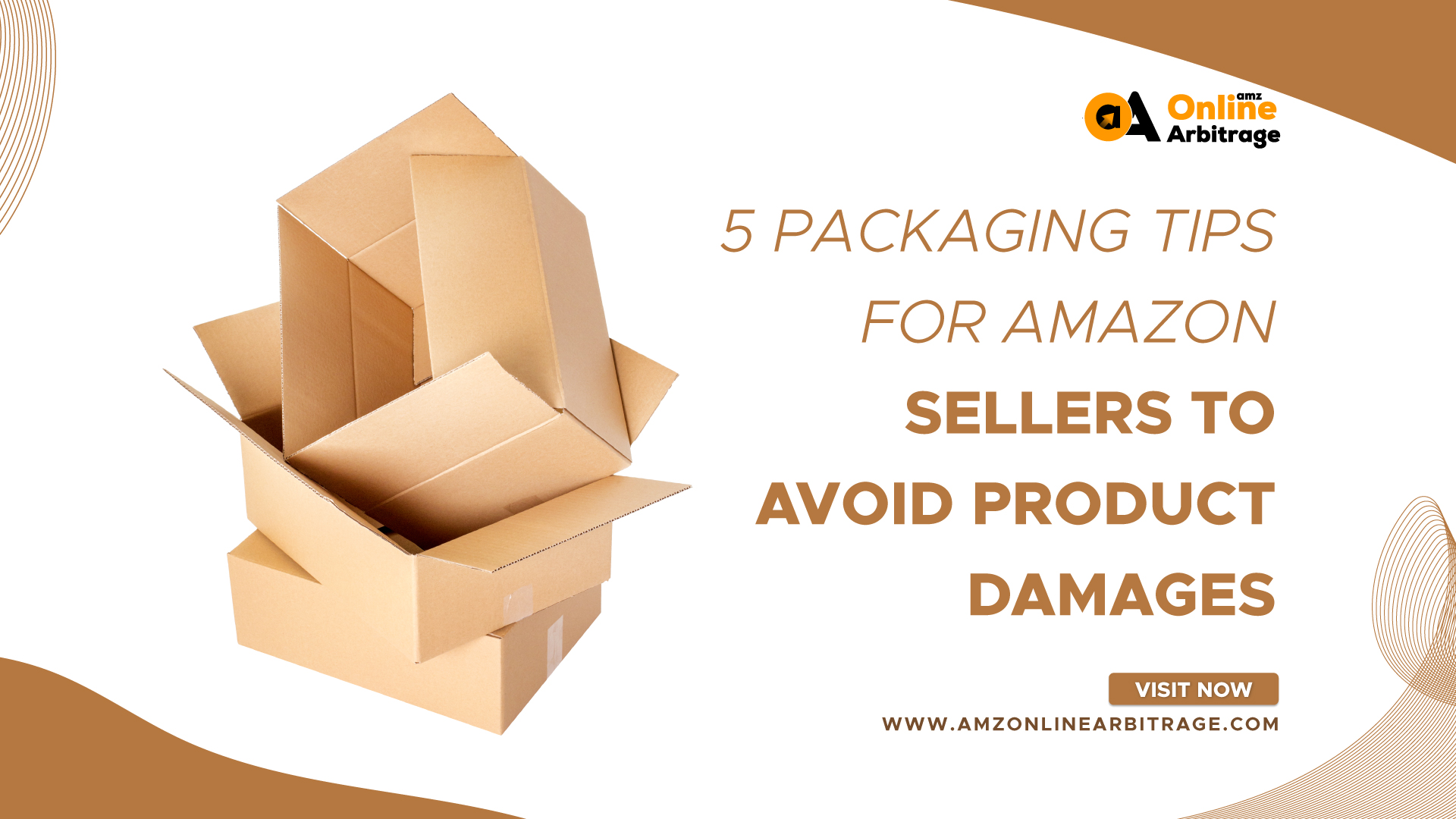 5 PACKAGING TIPS FOR AMAZON SELLERS TO AVOID PRODUCT DAMAGES