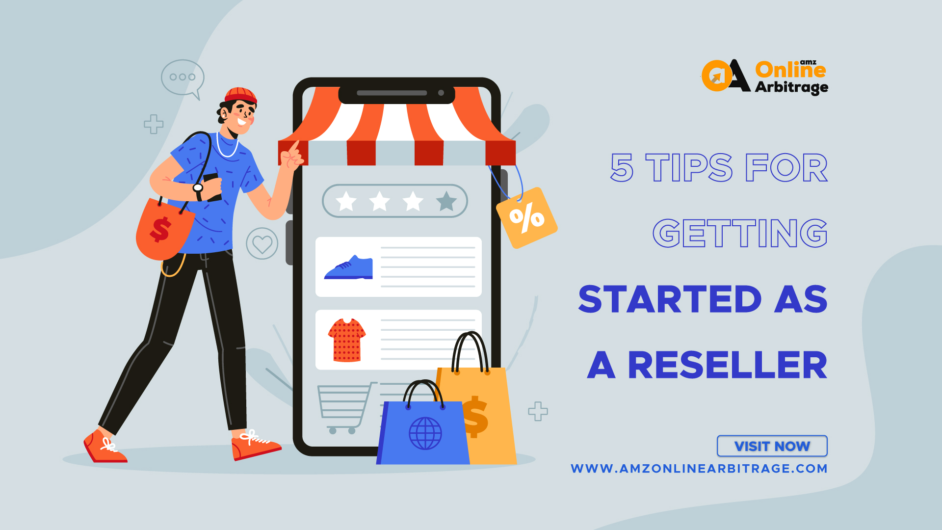 5 TIPS FOR GETTING STARTED AS A RESELLER