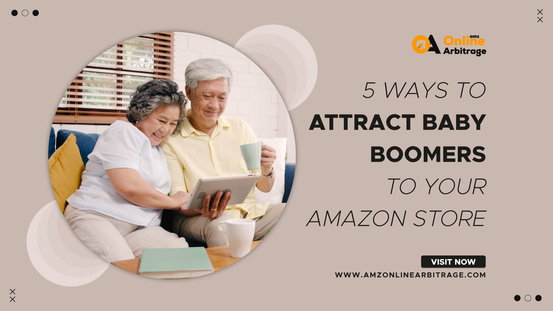 5 WAYS TO ATTRACT BABY BOOMERS TO YOUR AMAZON STORE