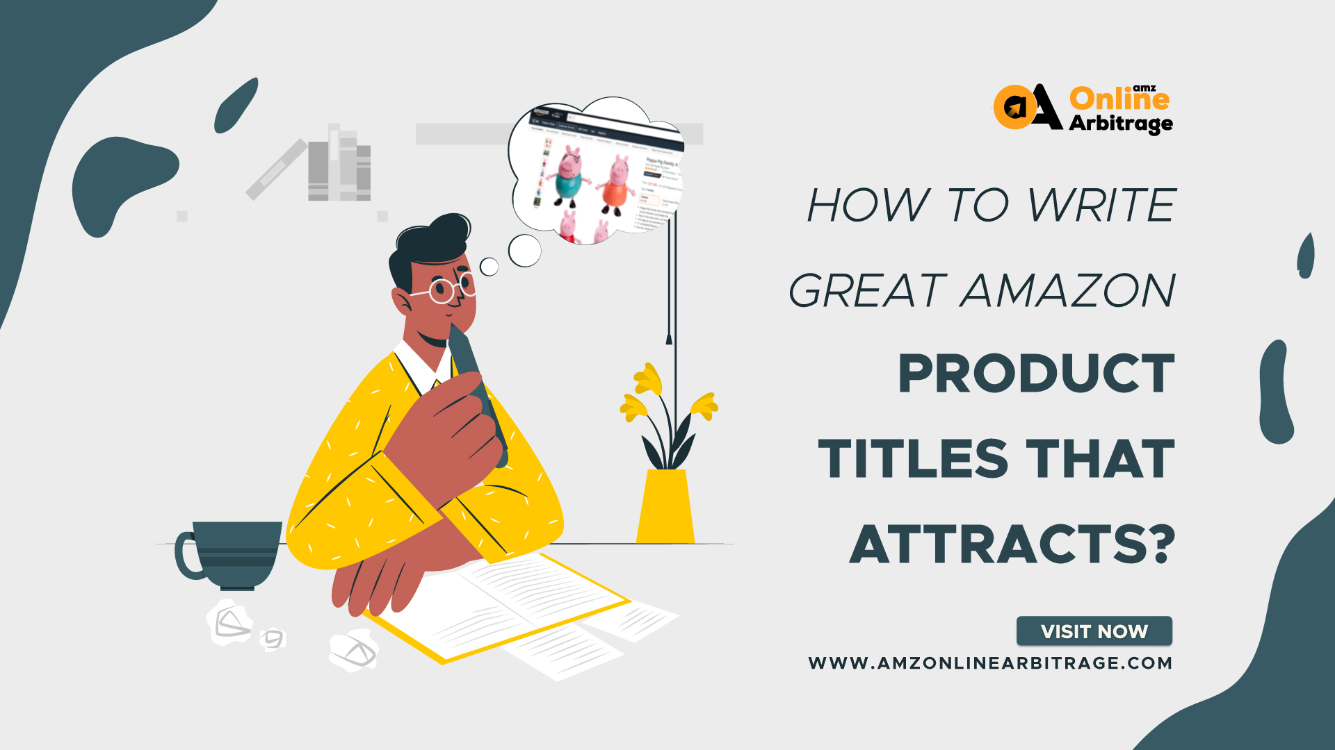 HOW TO WRITE GREAT AMAZON PRODUCT TITLE THAT ATTRACTS?