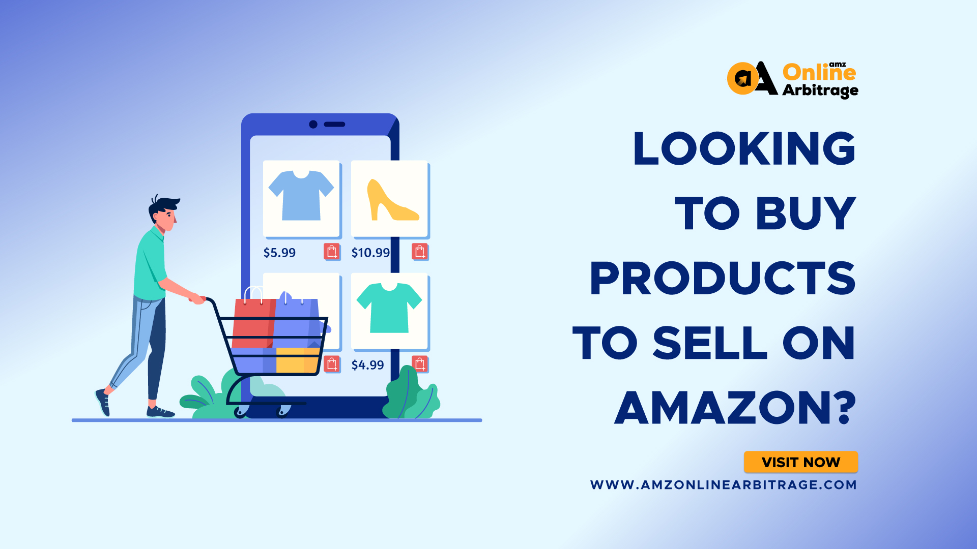LOOKING TO BUY PRODUCTS TO SELL ON AMAZON?