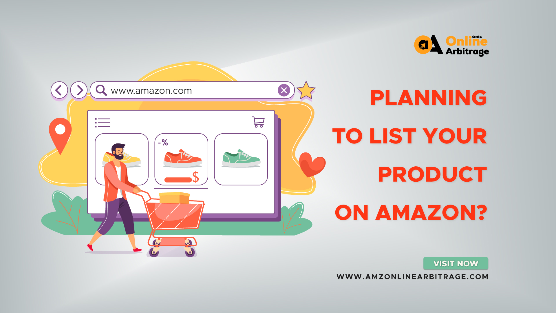PLANNING TO LIST YOUR PRODUCT ON AMAZON?