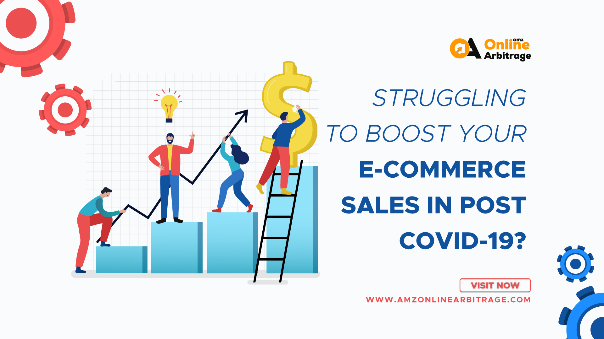 STRUGGLING TO BOOST YOUR E-COMMERCE SALES IN POST COVID-19?