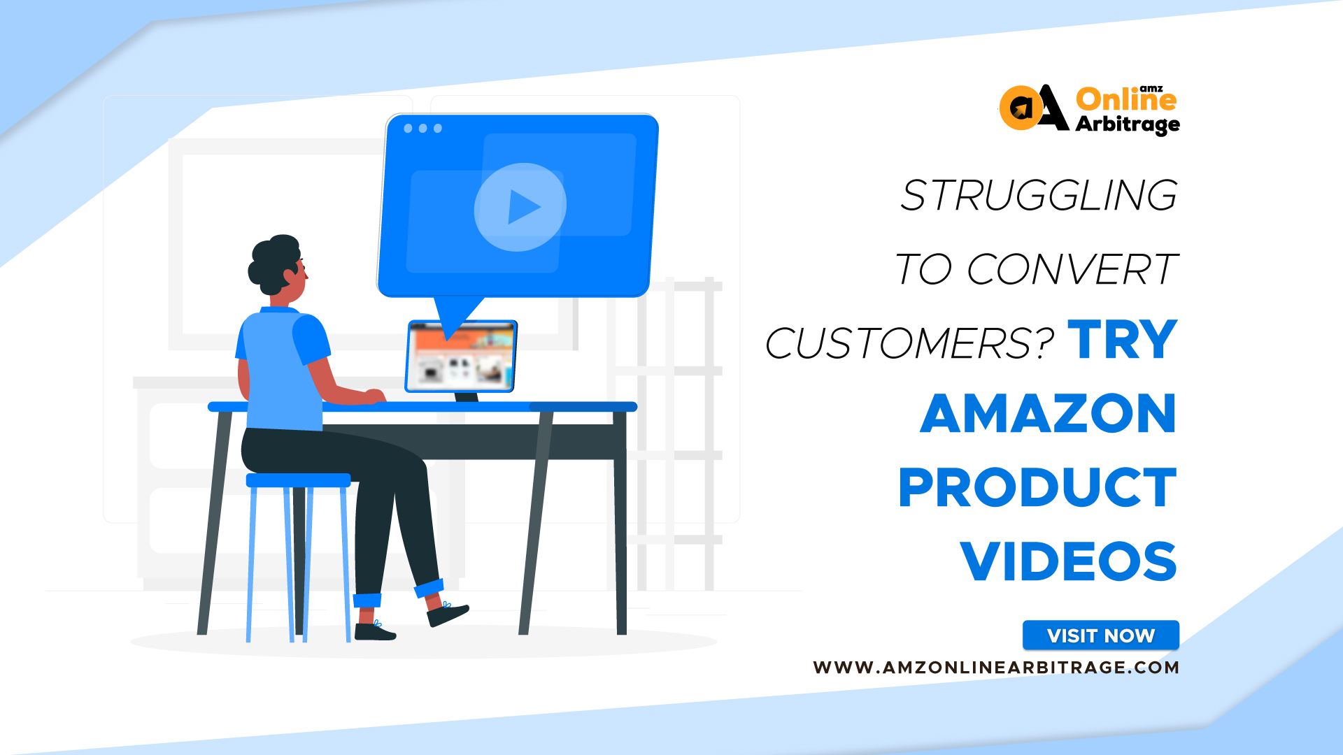 STRUGGLING TO CONVERT CUSTOMERS? TRY AMAZON PRODUCT VIDEOS