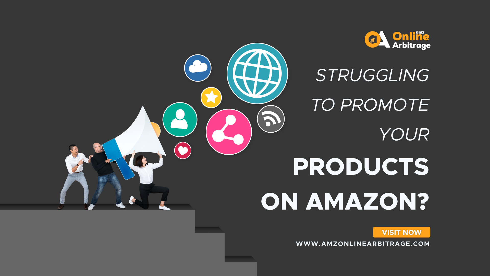 STRUGGLING TO PROMOTE YOUR PRODUCTS ON AMAZON?