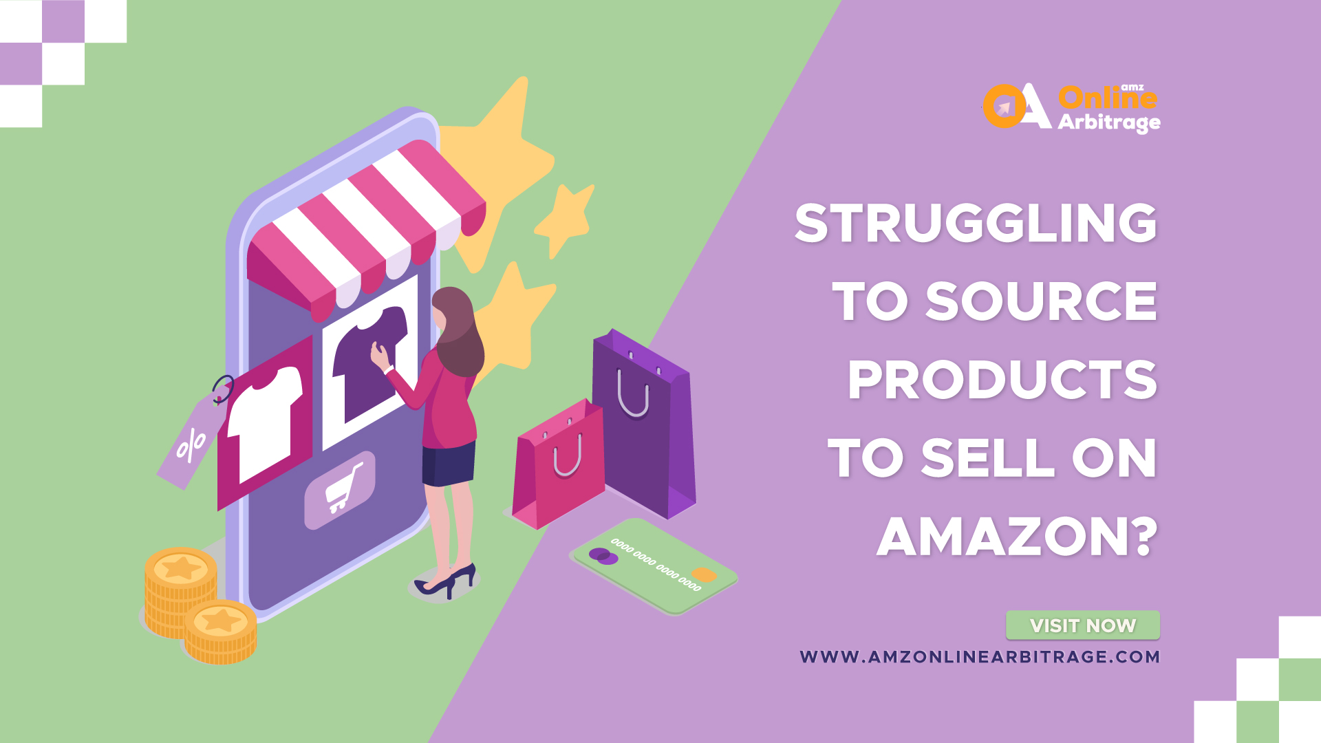 STRUGGLING TO SOURCE PRODUCTS TO SELL ON AMAZON?