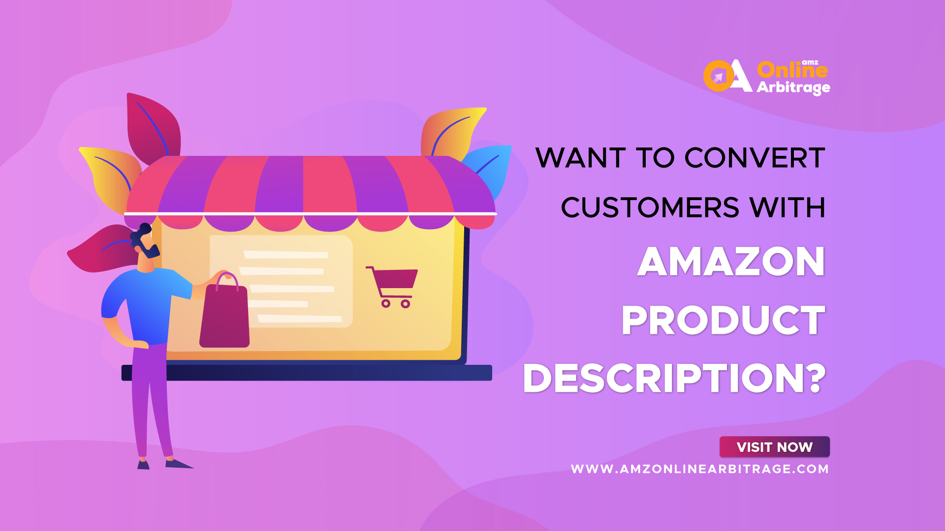 WANT TO CONVERT CUSTOMERS WITH AMAZON PRODUCT DESCRIPTION?