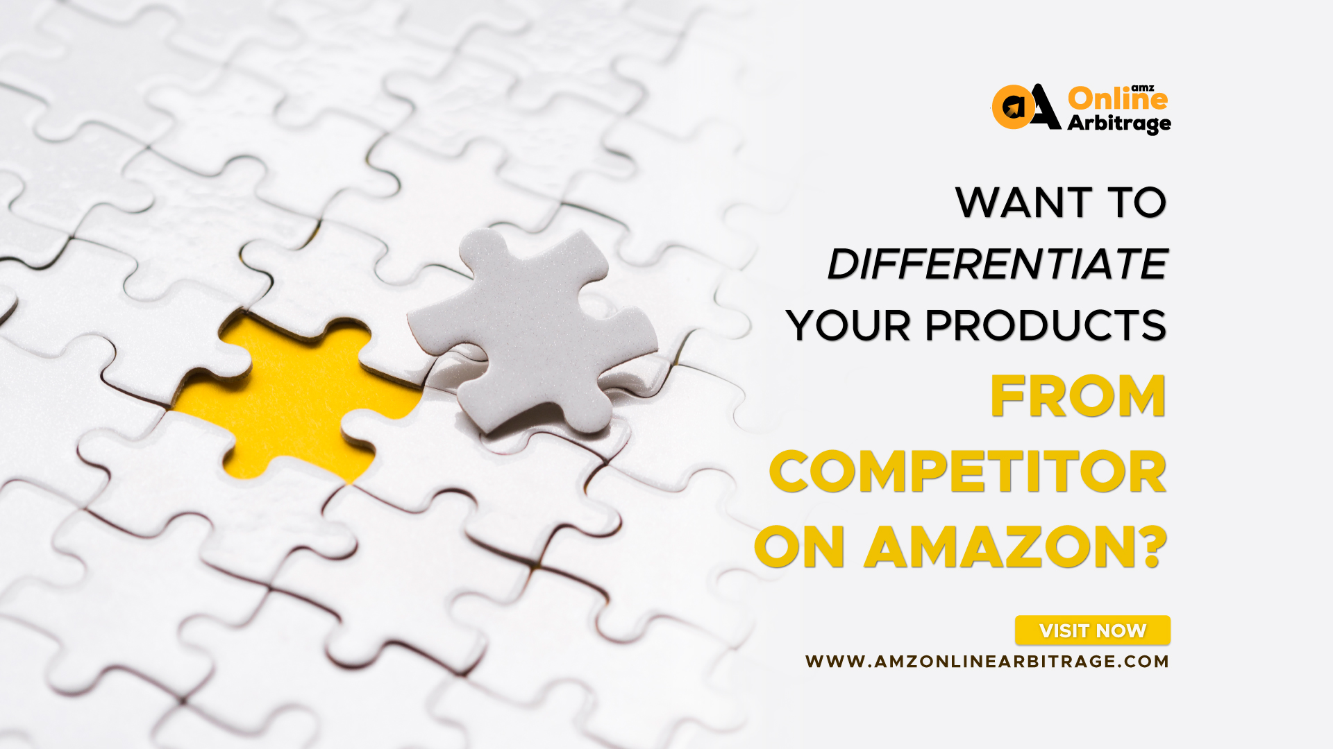 WANT TO DIFFERENTIATE YOUR PRODUCTS FROM COMPETITOR ON AMAZON?