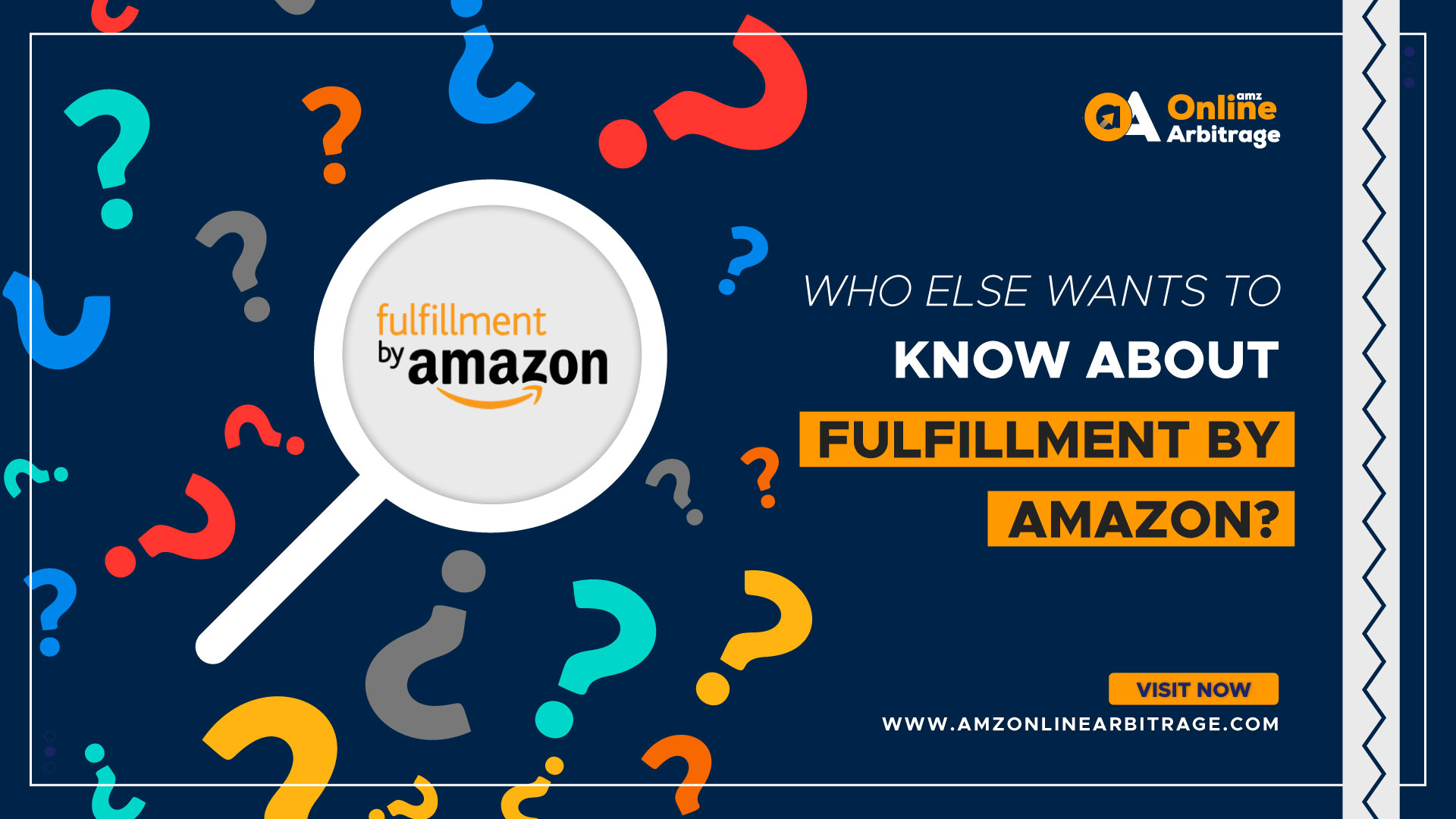 WHO ELSE WANTS TO KNOW ABOUT FULFILLMENT BY AMAZON?